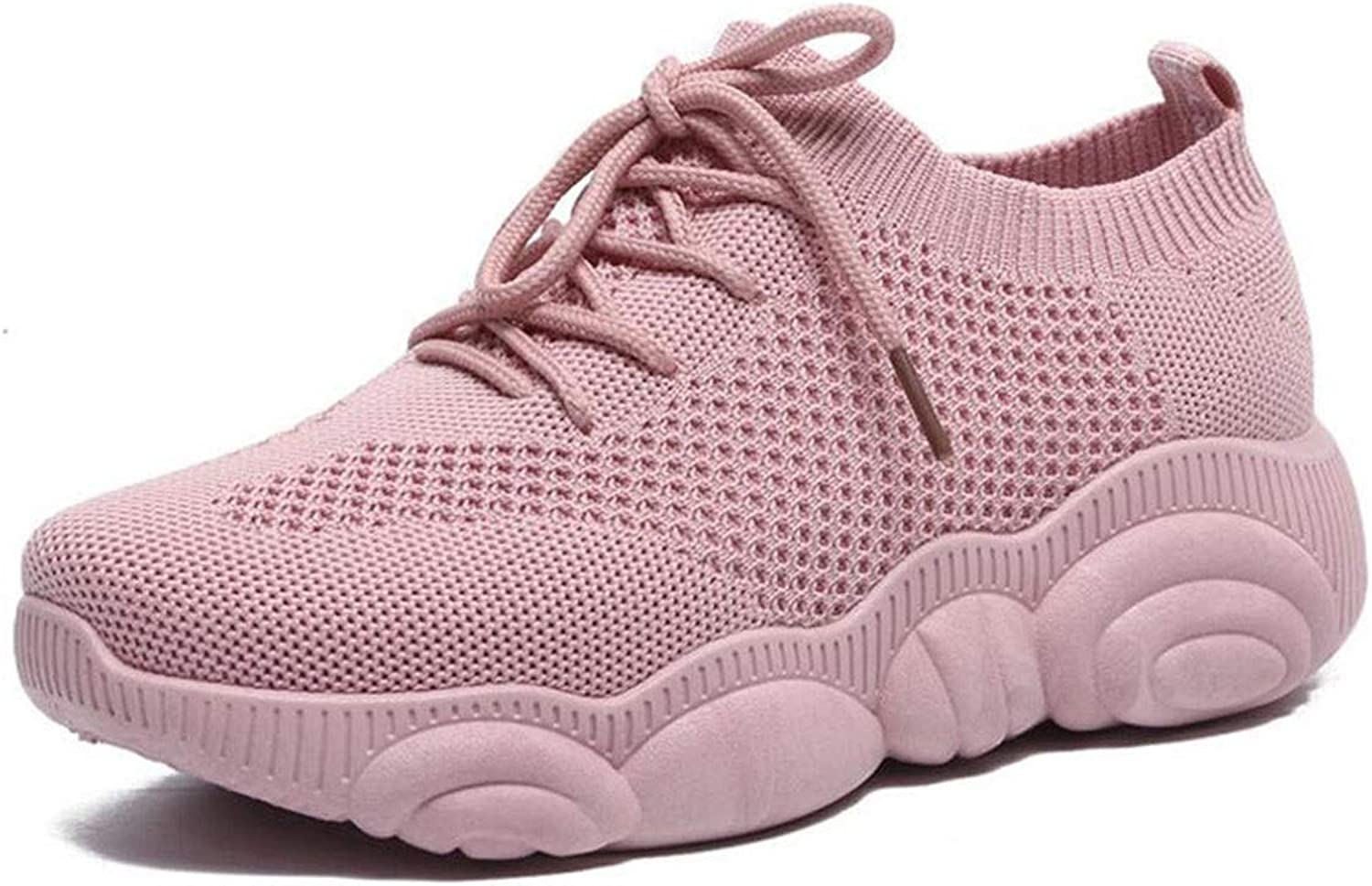Women's Running shoes Women's Trainers Platform Sneakers Jogging Mesh Air Cushion Ladies Runing shoes Women's Walking shoes Leather Anti-Slip Anti-Collision Water-Resistant shoes