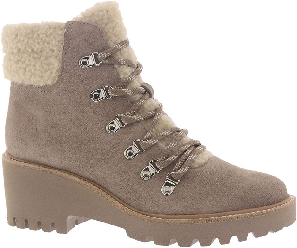 Dolce Vita Max 63% OFF Some reservation Women's Utilitarian Boot Sherpa Fashion Bootie
