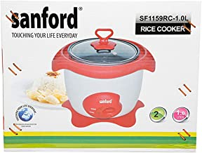 Sanford 1.0 Liters Rice Cooker, SF1159RC-BS White