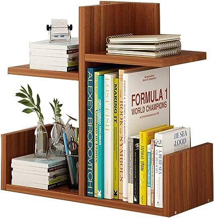 Librerías Estante para Libros Estante de Mesa Simple ...