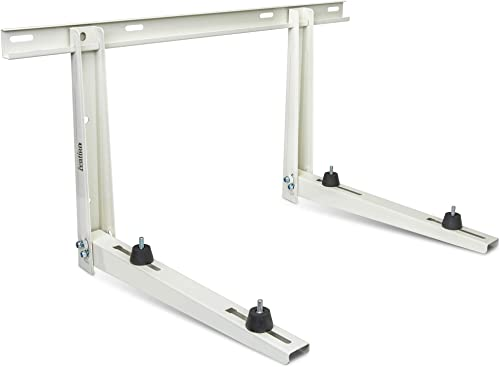 lowest Ivation Outdoor Split Air Conditioner Mount Bracket, Heavy-Duty Wall Mounting Universal AC Bracket wholesale with Hardware for Ductless Mini Split Condenser Heat Pumps & HVAC Systems, Max 331 high quality Lb. Capacity online