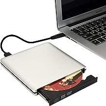 BESNIN External DVD Drive USB 3.0 Type-C Transmission Interface, CD DVD +/-RW Burner Optical Drive Compatible Windows for Laptop Desktop PC of HP/Dell/Apple/Lenovo ect