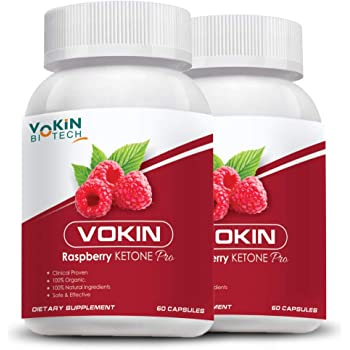 Vokin Biotech Raspberry Ketone Pro Capsules With Weight Loss