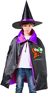 Super Kenny South Park M-Ario Unisex Kids Hooded Cloak Cape Halloween Party Decoration Role Cosplay Costumes Outwear Purple