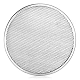 New Star Foodservice 50967 Restaurant-Grade Aluminum Pizza Baking Screen, Seamless, 14-Inch, Pack of 6