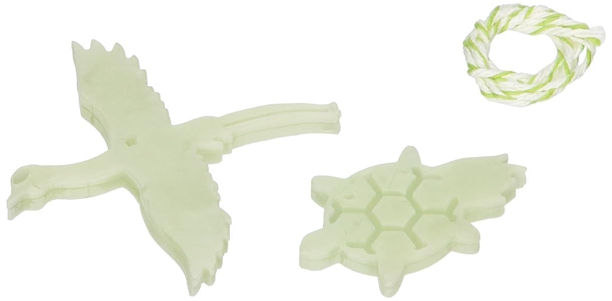 技術的なニンニクマダムGRASSE TOKYO AROMATICWAXチャーム「鶴亀」(GR) レモングラス アロマティックワックス グラーストウキョウ
