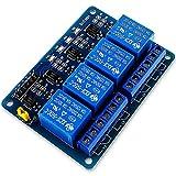 relais 5v 230v arduino 【ANWENDUNG】 Dieses DC 5V 4 Kanal Relais Modul mit Optokopplern eignet sich perfekt für die Ansteuerung von bis zu 4 Geräten mit größerem Strom.