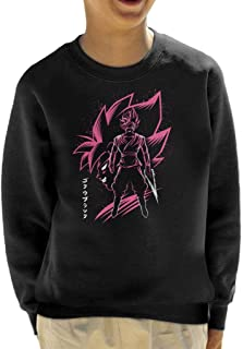 Cloud City 7 Inking Goku Black Rosa Kid's Sweatshirt