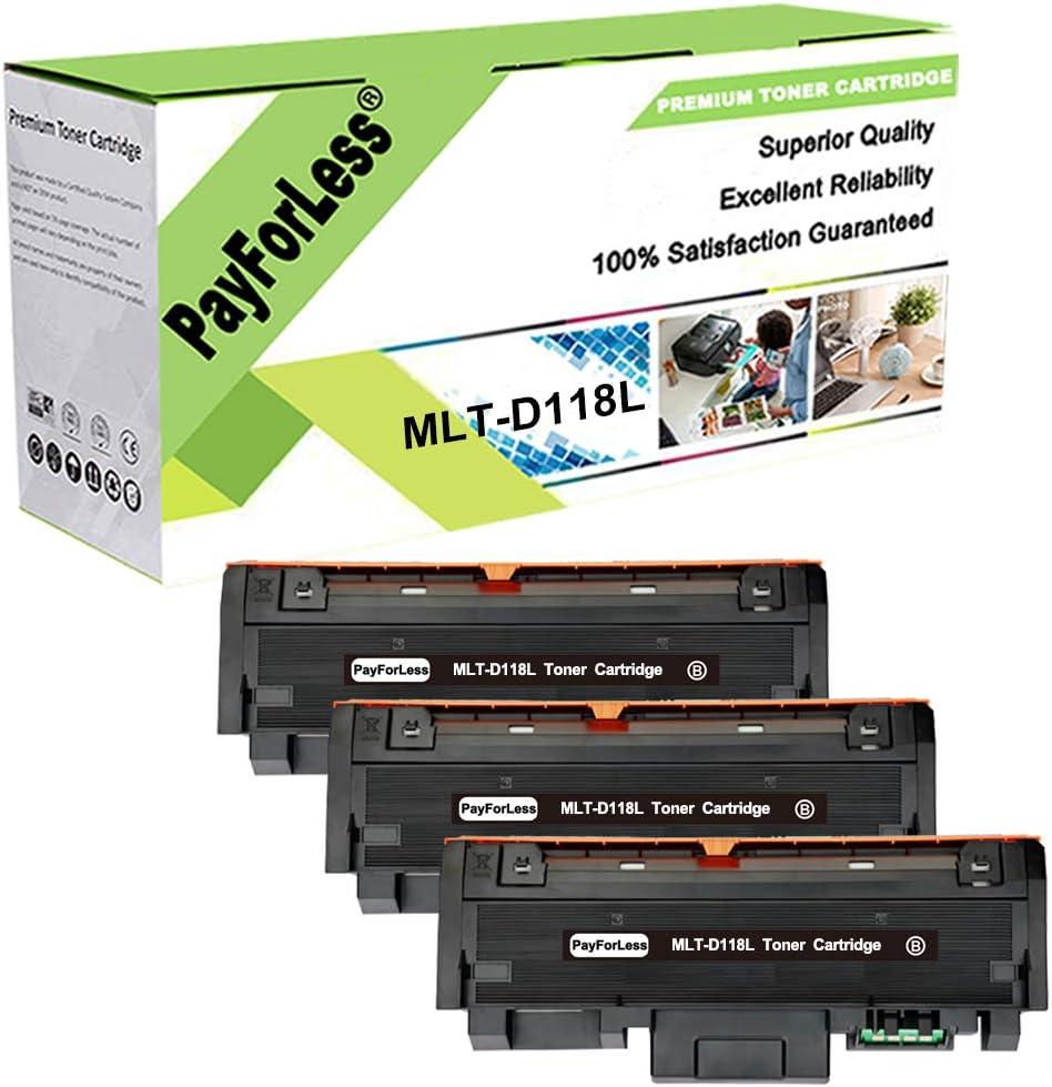 PayForLess 3PK MLT-D118L D118L Limited Special Price MLT-D118S Samsung D118S Toner Wholesale for