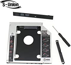 S-Union New Hard Disk Drive HDD Caddy for Dell XPS 14 15 17 1640 1645 1535 1536 1537 1555 1557 1735 1737 1537 Series