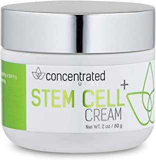 Concentrated Naturals Stem Cell Cream for Face | with Sea Weed Extract, Hyaluronic Acid, Lactic Acid | May Help Hydrate, Firm and Brighten Skin |Net WT. 2 oz / 60 g