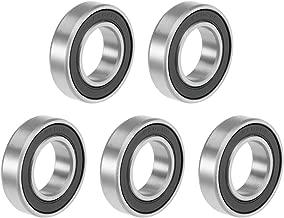 DIY Mechanicals 6902RS Rodamiento de Bolas de Goma para Ranura Profunda 15 x 28 x 7 mm 2
