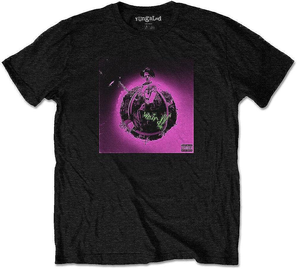 Yungblud Men's Pink Album Ranking TOP16 Popular brand in the world T-Shirt Fit Slim Black