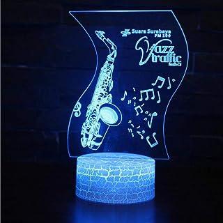 Décoration de noël 3D veilleuse de noël Chambre d'enfants LED Enfants lumières Lampes décoration de noël 3D veilleuse de noël