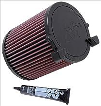 K/&N 63-2587 Waschbarer und wiederverwendbarer KFZ Hochleistungsluftfiltersystem