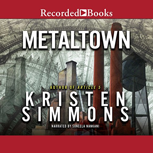 Metaltown audiobook cover art
