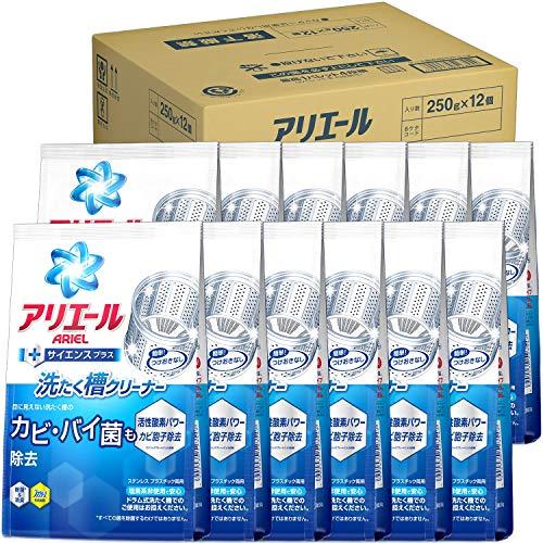 スマートマットライト 【ケース販売】 アリエール 洗たく槽クリーナー 250g×12個