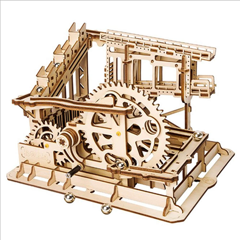 QIQI Kinder-Erwachsenen-Puzzle Modell 3D Dreidimensionale Holzjigsage-Rtsel Toy