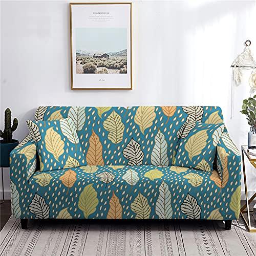 AIBABY Moderne Minimalistische Faule All-Inclusive-Stretch-Sofabezug 4 Jahreszeiten Universal-Sofabezug Staubdichtes Maschinenwaschbares Sofakissen