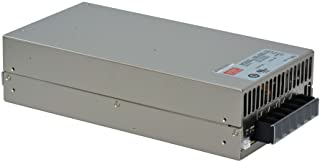"""MEAN WELL SE-600-12 AC to DC Power Supply, Single Output, 12V, 50 Amp, 600W, 1.5"""" - 374011"""