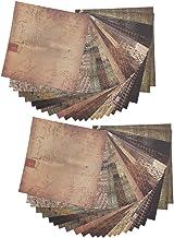 Nicoone Diy Plakboek Album Plakboek Patroon Wenskaarten Junk Journal Kaart Decorato Vintage Botanische Deco Sticker 48 Vellen