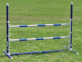 Affordable Agility Blue Competition Adjustable Jump