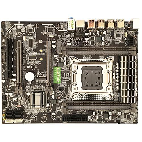 Para placa base, computadora de escritorio Real X79 para placa base 2011 Pin Ranura de memoria DDR3 de cuatro canales M.2 USB3.0SATA3.0 Edición de lujo