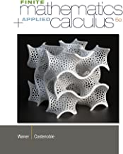 Best finite mathematics and applied calculus 6th edition Reviews