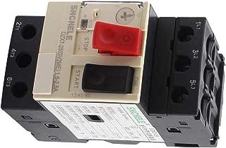 Aexit 1.6-2.5A 690V Circuit Breakers 6KV 3 Phase Button Black Starting Motor Miniature Circuit Breakers Circuit Breaker