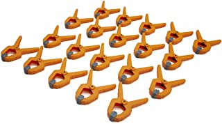 Bora 1-Inch Mini Spring Clamp, 20-pack, 540520. Give yourself an extra hand with these tough polymer mini spring clamps