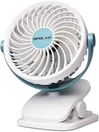Long Lasting OPOLAR BE1 Cordless Tower Fan with SuperPower Battery Aesthetic design USB Powered 10000mAh Portable Desk Cooling Fan with Dual Air Circulation System 10W Fast Charging 6-24 Hours