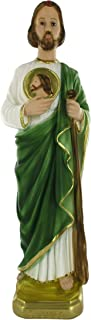 Ferrari & Arrighetti Saint Jude The Apostle Statue, Hand-Painted Plaster (40 cm)