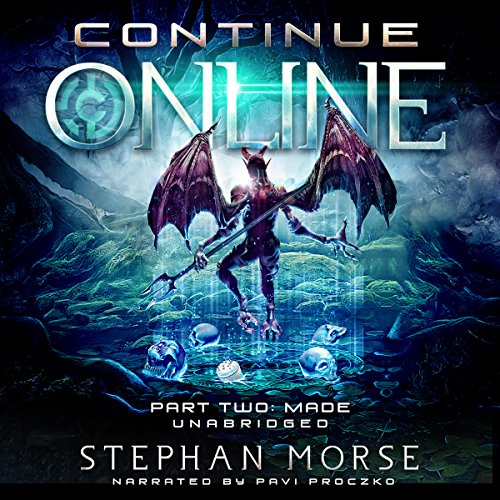 Continue Online Part Two: Made audiobook cover art