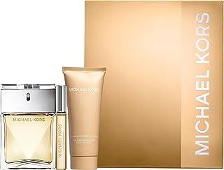 Michael Kors 3 Piece Set: 3.4 oz Eau de Parfum Spray + .34 oz Eau de Parfum Rollerball + 3.4 oz A Fabulous Body Lotion
