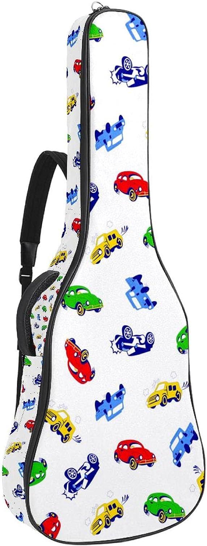 Acoustic Guitar Max El Paso Mall 75% OFF Bag Colorful Cars Adjustable Guit Shoulder Strap