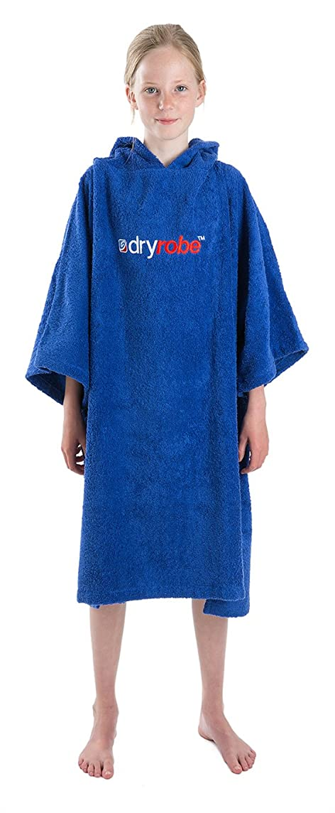 Dryrobe Kids Beach Towel Surf Poncho - Short Sleeve One Size