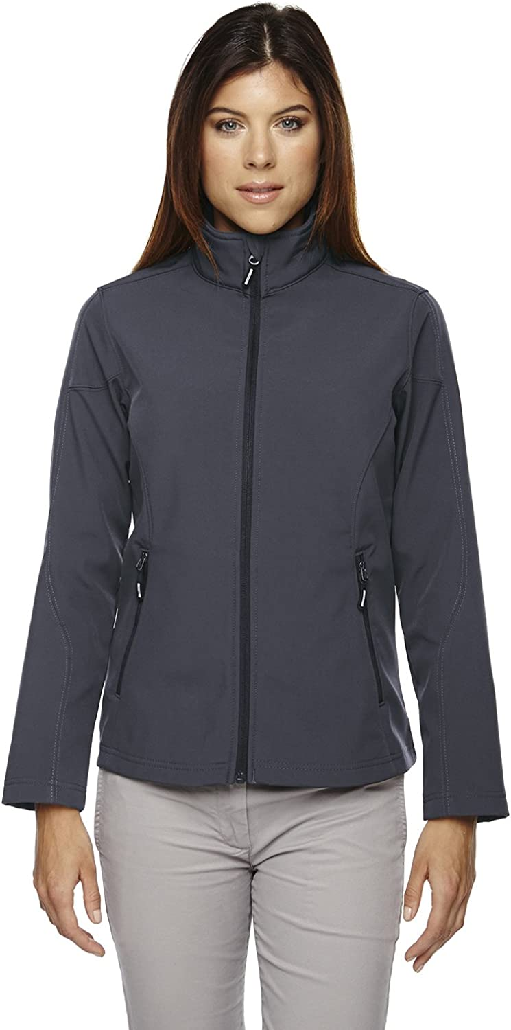 Ash City  Core 365 North End Women's Cruise TwoLayer Fleece Bonded Shell Jacket