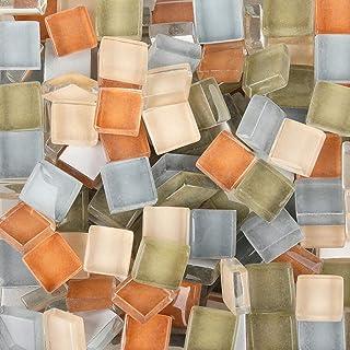 300 Pcs Mosaic Tiles Mixed Color Mosaic Glass Pieces Genuine Mosaic Tiles Glass Pieces Mosaic Perfect for Home Decoration ...