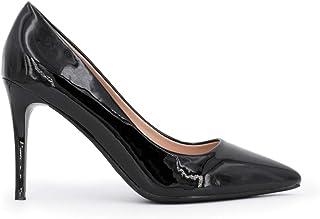 sitio de buena reputación b780f ea975 Amazon.es: tacones charol - 8 - 11 cm / Zapatos de tacón ...