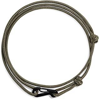 WUE Mens Bracelet Handmade with 275 Paracord 2.38mm Rope...