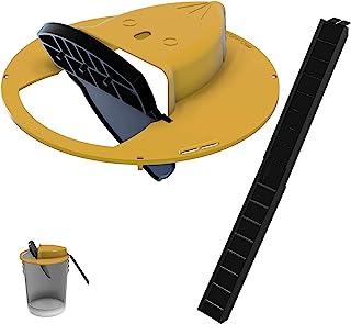 Flip N Slide Bucket Lid Mouse/Rat Trap |Humane or Lethal| |Trap Door Style| |Multi Catch |Auto Reset| |Indoor Outdoor| |No...