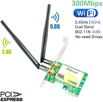 Pasamer AR5BXB72 WiFi Moudle Dual Band 300Mbps WiFi Dongle Adapter for LenovoIBM T60//T61 42T0825