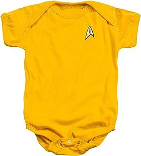 Star Trek - - St / Commande T-shirt uniforme infantile dans l'or, 6 Months, Gold
