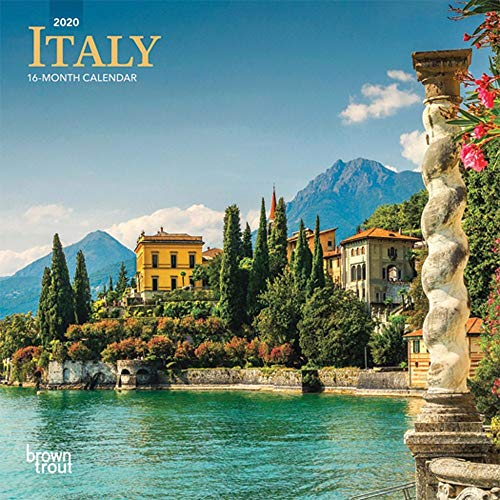 2020 Italy Mini Wall Calendar, by BrownTrout