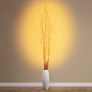 Natural Willow Branch Decorative String Light, USB Plug-in for Christmas Wedding Party Home Fireplace Decoration ZJ Right ...