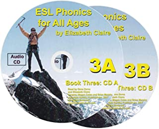 ESL Phonics for All Ages, Book Three Audio CDs