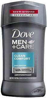 Dove 男性+ケア制汗デオドラントスティッククリーンコンフォート2.7オズ(10パック) 10のパック