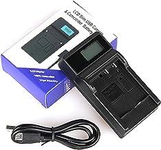 LCD USB Travel Battery Charger for Pentax Optio WG-1, WG-2, WG-3 GPS Digital Camera