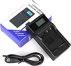 LCD USB Travel Battery Charger for Nikon Coolpix P500, Coolpix P510, Coolpix P520, Coolpix P530 Digital Camera