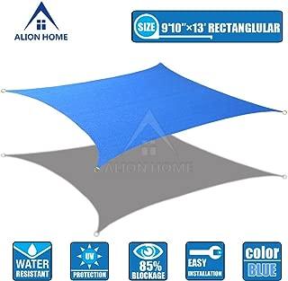 Alion Home HDPE Sun Shade Sail - Blue (9'10